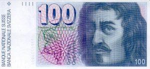 100 franków szwajcarskich - banknot 2