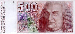 500 franków szwajacarskich