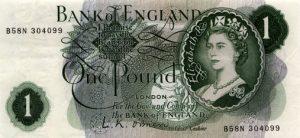 1 funt brytyjski