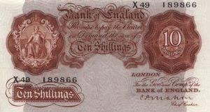 10 szylingów brytyjskich - banknot 3