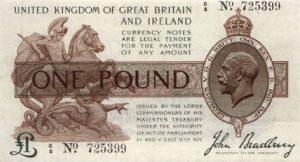 1 funt brytyjski - banknot 4