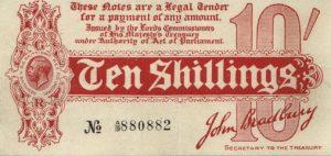 10 szylingów brytyjskich - banknot 5