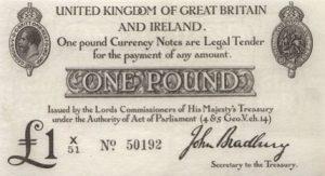 1 funt brytyjski - banknot 5