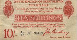 10 szylingów brytyjskich - banknot 6