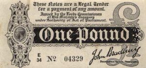 1 funt brytyjski - banknot 6