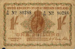 1 szyling brytyjski