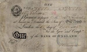 1 funt brytyjski - banknot 7