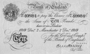 10 funtów brytyjskich - banknot 3