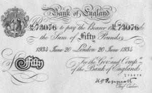 50 funtów brytyjskich - banknot 2