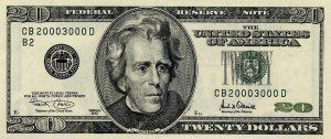 20 dolarów amerykańskich - banknot 3