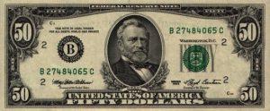 50 dolarów amerykańskich - banknot 2