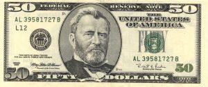 50 dolarów amerykańskich - banknot 3