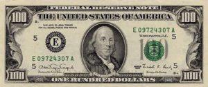 100 dolarów amerykańskich - banknot 2