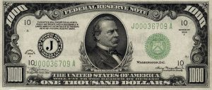 1000 dolarów amerykańskich
