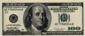 100 dolarów amerykańskich - banknot 3