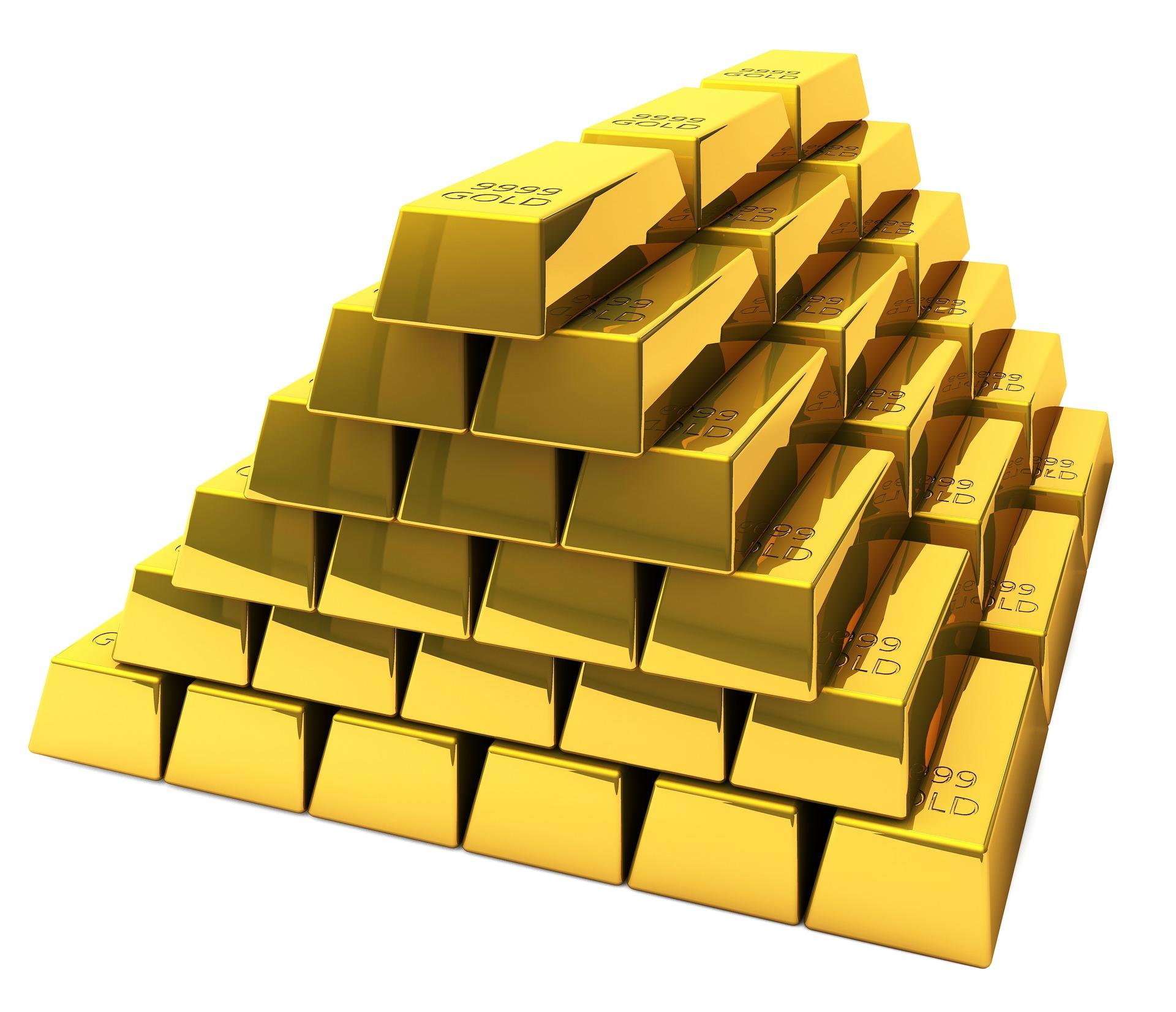 sztabki złota 1 kg