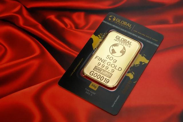 mała sztabka złota